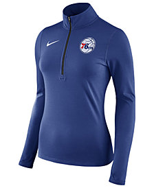 Nike Women's Philadelphia 76ers Element Pullover