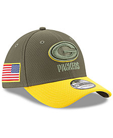 New Era Green Bay Packers Salute To Service 39THIRTY Cap