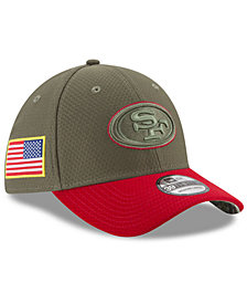 New Era San Francisco 49ers Salute To Service 39THIRTY Cap