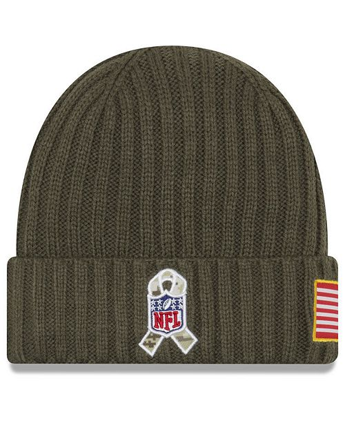 f9a089989 New Era New Orleans Saints Salute To Service Cuff Knit Hat & Reviews ...