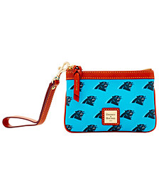 Dooney & Bourke Carolina Panthers Exclusive Wristlet