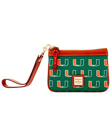 Dooney & Bourke Miami Hurricanes Exclusive Wristlet