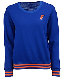 Women's Florida Gators Mesh Back Sweatshirt