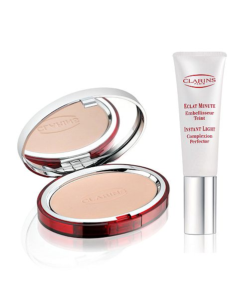 Clarins Choose your gift FREE with any Clarins Foundation purchase!