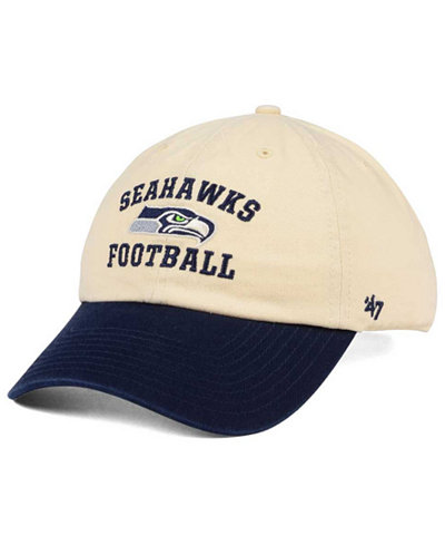 '47 Brand Seattle Seahawks Steady Two-Tone CLEAN UP Cap