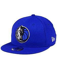 New Era Boys' Dallas Mavericks Basic Link 9FIFTY Snapback Cap