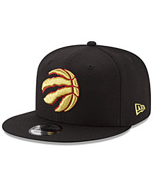 New Era Toronto Raptors Gold on Team 9FIFTY Snapback Cap