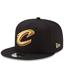 New Era Cleveland Cavaliers Gold on Team 9FIFTY Snapback Cap