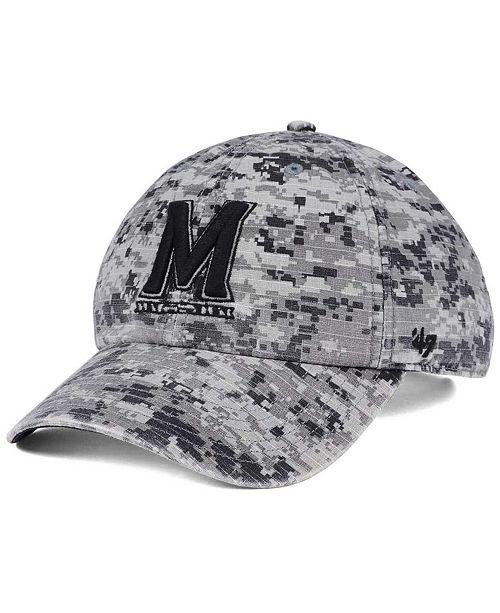 '47 Brand Maryland Terrapins Operation Hat Trick Camo Nilan Cap