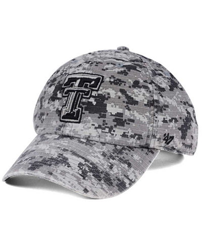 '47 Brand Texas Tech Red Raiders Operation Hat Trick Camo Nilan Cap