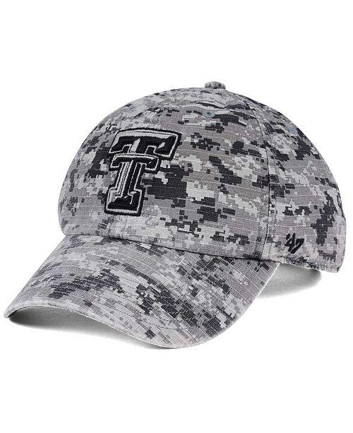 '47 Brand Texas Tech Red Raiders Operation Hat Trick Camo Nilan Cap