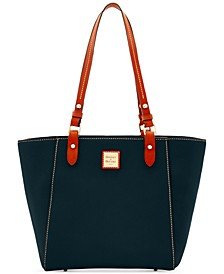 Janie Pebble Leather Small Tote