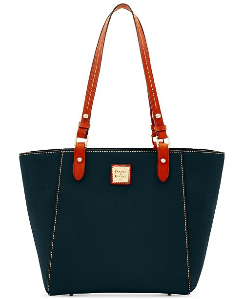 Dooney & Bourke Janie Pebble Leather Small Tote