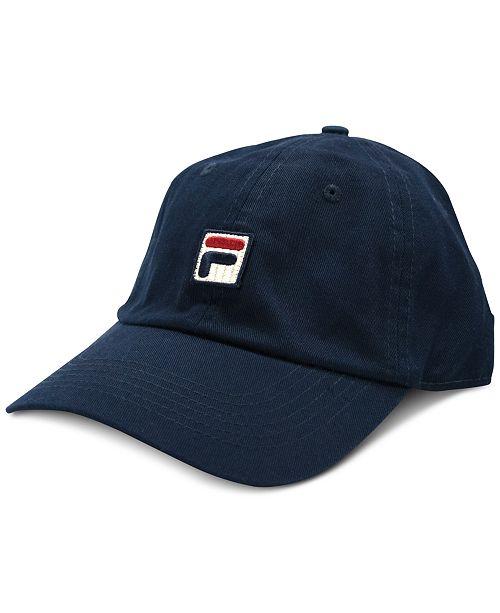 837f9de588a Fila Heritage Cotton Baseball Cap - Women s Brands - Women - Macy s
