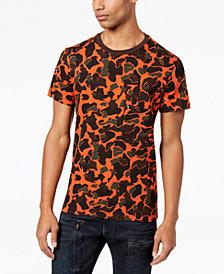 G-Star RAW Men's Stalt RDSS Tador Camouflage-Print T-Shirt