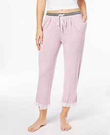 Layla Sweet Things Printed Capri Pajama Pants