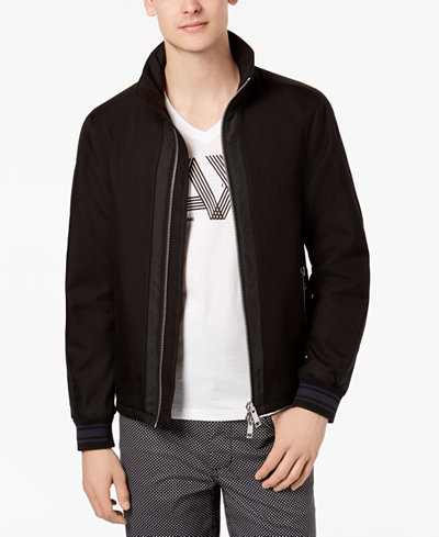 Armani Exchange Men's Mixed Media Jacket