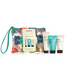 Receive a FREE 4pc Gift of Nature with any $55 Ahava purchase