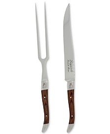French Home Laguiole 2-Pc. Pakkawood Carving Set