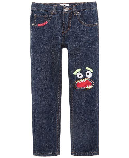 Monster Denim Jeans, Toddler Boys, Created for Macy's
