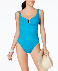 Miraclesuit Gandolf Underwire Tummy-Control One-Piece Swimsuit