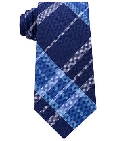 Tommy Hilfiger Men's Plaid Silk Tie