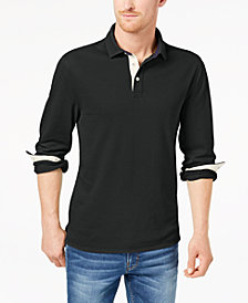 Club Room Men's Stretch Polo, Created for Macy's