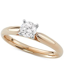 Solitaire Engagement Ring (1/2 ct. t.w.) in 14k Gold or White Gold
