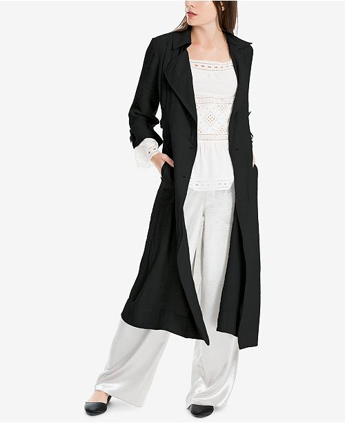 Max Studio London Tie-Sleeve Duster Jacket, Created for Macy's