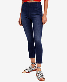Free People Ultra High Pull-On Skinny Jeans