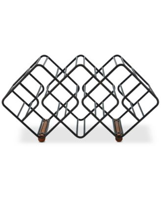 Gourmet Basics By 12-Bottle Stackable Wine Rack