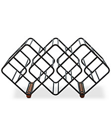 Gourmet Basics By Mikasa 12-Bottle Stackable Wine Rack