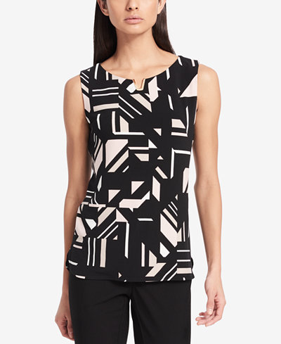 Calvin Klein Embellished Top, Created for Macy's