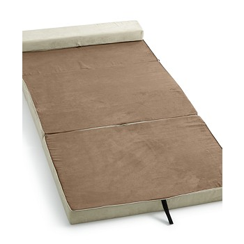 Homedics The Crash Pad Instant Twin Folding Bed (Brown,Twin)