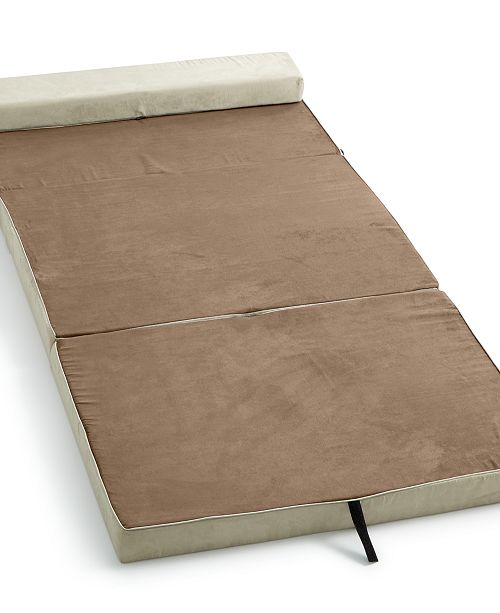 Homedics The Crash Pad Instant Folding Bed - Mattress Pads & Toppers ...