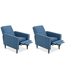 Wadena Recliner Club Chair (Set Of 2)