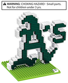 Forever Collectibles Oakland Athletics BRXLZ 3D Logo Puzzle
