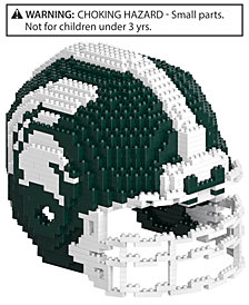 Forever Collectibles Michigan State Spartans BRXLZ 3D Helmet Puzzle