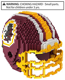 Forever Collectibles Washington Redskins BRXLZ 3D Helmet Puzzle