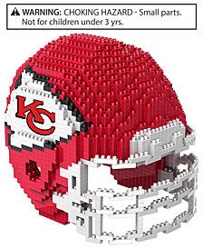 Forever Collectibles Kansas City Chiefs BRXLZ 3D Helmet Puzzle