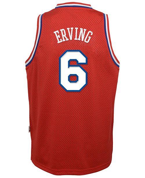 23b3c31bbd5 adidas Julius Erving Philadelphia 76ers Retired Player Swingman Jersey