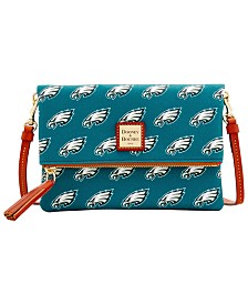 Dooney & Bourke NFL Foldover Crossbody Purse
