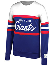 Mitchell & Ness Men's New York Giants Head Coach Crew Sweatshirt