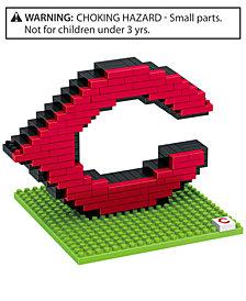 Forever Collectibles Cincinnati Reds BRXLZ 3D Logo Puzzle