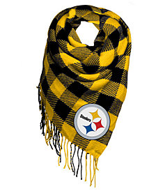 Forever Collectibles Pittsburgh Steelers Blanket Scarf