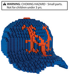 Forever Collectibles New York Mets BRXLZ 3D Baseball Cap Puzzle