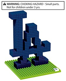Los Angeles Dodgers BRXLZ 3D Logo Puzzle