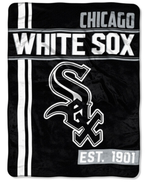 Northwest Company Chicago White Sox Micro Raschel Structure Blanket