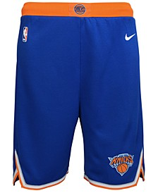 New York Knicks Icon Swingman Shorts, Big Boys (8-20)