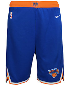 Nike New York Knicks Icon Swingman Shorts, Big Boys (8-20)